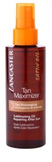 Lancaster Tan Maximizer suchý regenerační olej pro prodloužení opálení na obličej a tělo