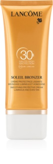 Lancôme Soleil Bronzer creme solar facial SPF30
