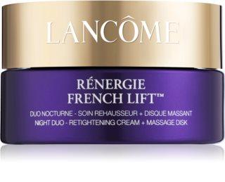 Lancôme Rénergie French Lift™ nočna krema z masažnim diskom
