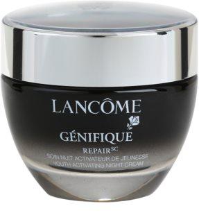 Lancôme Génifique нічний омолоджуючий крем для всіх типів шкіри