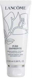 Lancôme Pure Empreinte Masque masque purifiant pour peaux grasses et mixtes