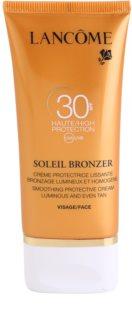 Lancôme Soleil Bronzer krema za sončenje za obraz SPF 30