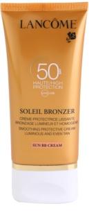 Lancôme Soleil Bronzer krema za sončenje za obraz SPF 50