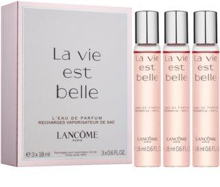 Lancôme La Vie Est Belle Eau de Parfum voor Vrouwen  3 x 18 ml (3x Navulling)