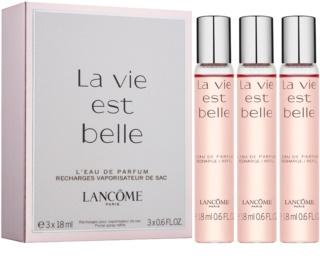 Lancôme La Vie Est Belle Eau de Parfum für Damen 3 x 18 ml (3 x Füllung)