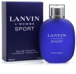 Lanvin L'Homme Sport toaletna voda za moške 100 ml