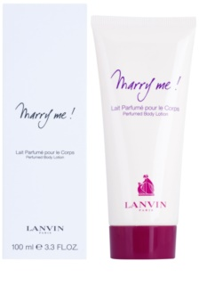 Lanvin Marry Me! Körperlotion für Damen 100 ml