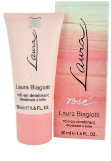 Laura Biagiotti Laura Rosé Roll-On Deodorant  for Women 50 ml