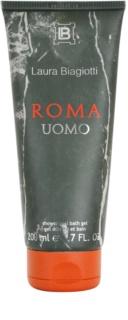 Laura Biagiotti Roma Uomo tusfürdő férfiaknak 200 ml