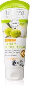 Lavera Olive & Camomile creme nutritivo para as mãos e unhas 2 em 1