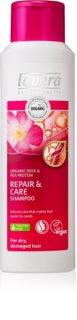 Lavera Repair & Care champô de cuidado para cabelo seco a danificado