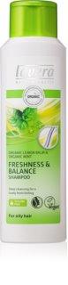 Lavera Balance champô revitalizante para cabelo oleoso