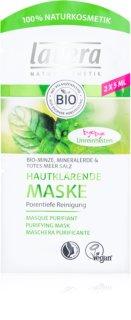 Lavera Bio Mint máscara de limpeza profunda