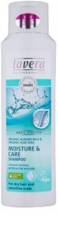 Lavera Basis Sensitiv Shampoo für trockene Haare und eine empfindliche Kopfhaut