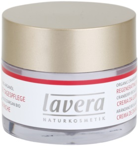 Lavera Faces Bio Cranberry and Argan Oil денний відновлюючий крем 45+