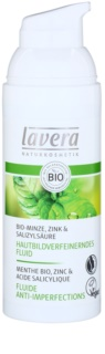 Lavera Faces Bio Mint fluid hidratant pentru ten gras