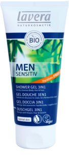 Lavera Men Sensitiv гель для душу 3в1