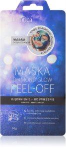 L'biotica Masks Diamond Glow Peeling-Maske für das Gesicht mit festigender Wirkung