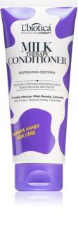 L'biotica Professional Therapy Milk balzam za sijaj in mehkobo las