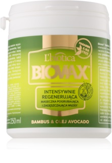 L'biotica Biovax Bamboo & Avocado Oil Regenerating Mask for Hair
