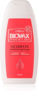 L'biotica Biovax Opuntia Oil & Mango Regenerating Shampoo For Damaged Hair