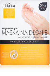 L'biotica Masks Regenerating Hand Mask in Gloves