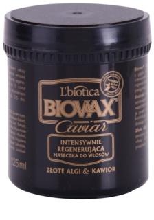 L'biotica Biovax Glamour Caviar výživná regeneračná maska s kaviárom