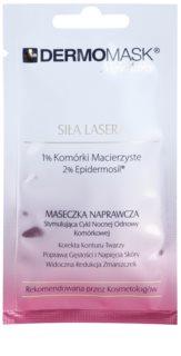 L'biotica DermoMask Night Active intensywnie odmładzająca maska z komórek macierzystych