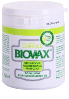 L'biotica Biovax Dull Hair Restoring Mask For Oily Hair And Scalp
