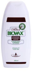 L'biotica Biovax Falling Hair posilující šampon proti padání vlasů