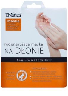 L'biotica Masks masca regeneratoare pentru maini sub formă de manusi