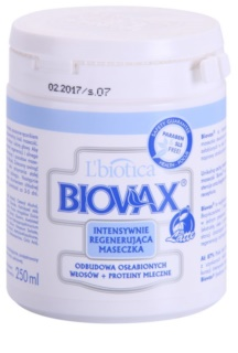 L'biotica Biovax Weak Hair maseczka wzmacniająca włosy słabe