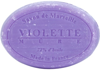 Le Chatelard 1802 Violet & Blackberry Round Natural French Soap