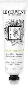 Le Couvent des Minimes Botaniques  Aqua Minimes krém na ruce unisex