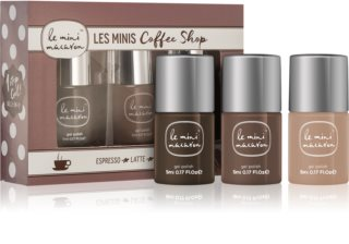Le Mini Macaron Les Minis Coffee Shop Cosmetic Set III. (for Nails) for Women
