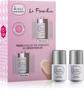 Le Mini Macaron Le Frenchie zestaw kosmetyków (do francuskiego manicure)