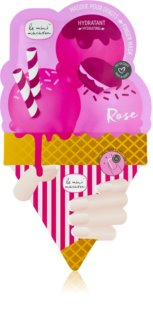 Le Mini Macaron Rose Hydratisierende Maske für Nägel