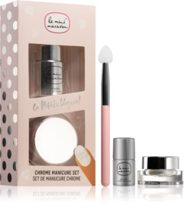 Le Mini Macaron Le Metallique Cosmetica Set  X. (voor Nagels)