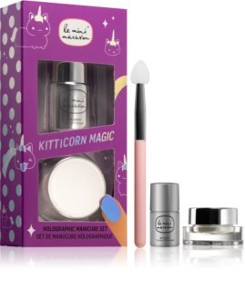 Le Mini Macaron Kitticorn Magic Cosmetica Set  XI. (voor Nagels)