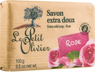 Le Petit Olivier Bath & Shower Rose Extra Mild Soap
