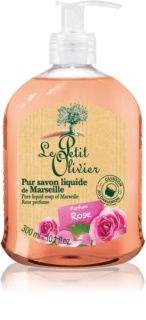 Le Petit Olivier Rose Liquid Soap