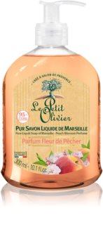 Le Petit Olivier Peach Blossom Nourishing Liquid Soap