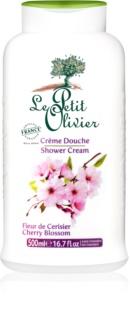 Le Petit Olivier Cherry Blossom creme de duche