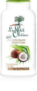 Le Petit Olivier Bath & Shower Coconut krema za prhanje