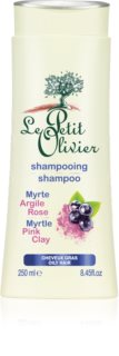 Le Petit Olivier Myrtle & Pink Clay Shampoo for Oily Hair