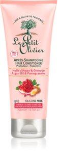 Le Petit Olivier Argan Oil & Pomegranate kondicionér pre farbené vlasy