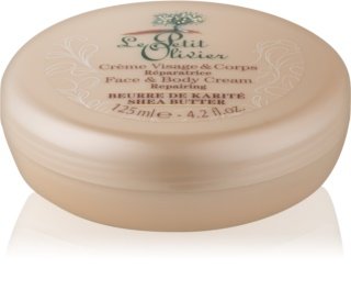 Le Petit Olivier Shea Butter Ultra-Moisturising Cream for Face and Body