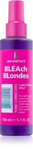 Lee Stafford Bleach Blondes spülfreier Conditioner für kühle Blondtöne neutralisiert gelbe Verfärbungen