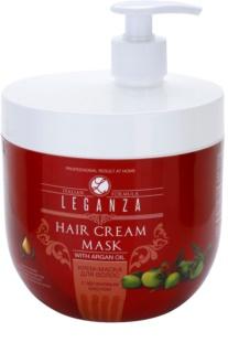 Leganza Hair Care Crème-Masker  met Arganolie