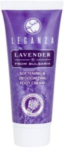 Leganza Lavender crema suavizante para pies